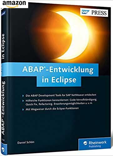Buch: ABAP-Entwicklung in Eclipse
