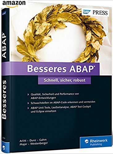 Buch: Besseres ABAP