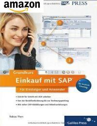 Buch: SAP Grundkurs Einkauf mit SAP für Einsteiger und Anwender