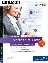Buch: SAP Grundkurs Vertrieb mit SAP für Einsteiger