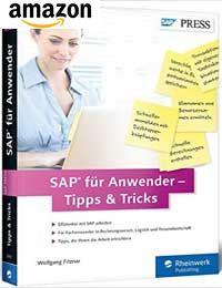 Buch: SAP für Anwender – Tipps & Tricks