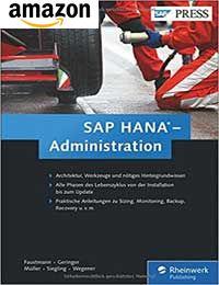 Buch: SAP HANA Administration