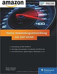 Buch: Native Anwendungsentwicklung mit SAP HANA